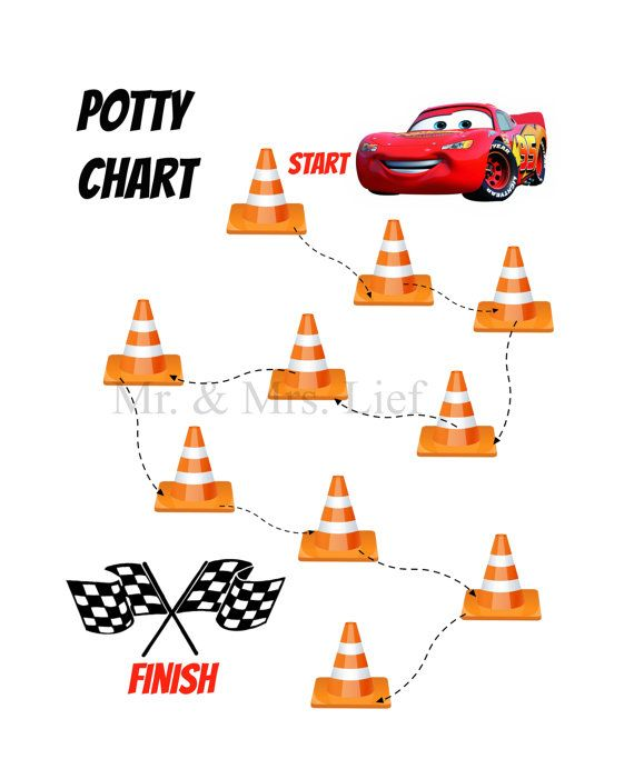 Printables Potty Chart Cars Potty Training Instant by MrLief