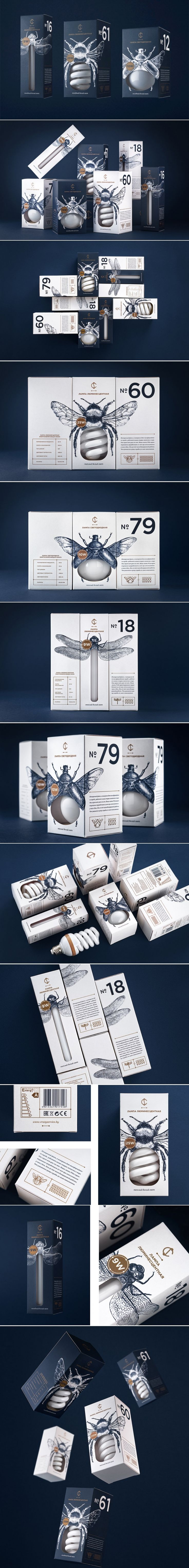 Fireflies Inspired This Clever Packaging for CS Light Bulbs — The Dieline | Packaging & Branding Design & Innovation News