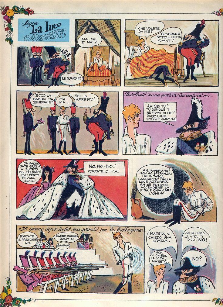 La luce azzurra 07 Tratto dal nº 1 del 5 gennaio 1969 del Corriere dei Piccoli