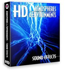 HD – Atmospheres & Environments Sound Effects on Hard Drive   Sound Ideas