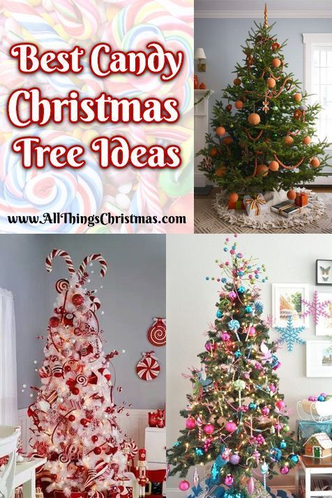 Best Candy Christmas Tree Ideas & Decorations · All Things Christmas - Best Candy Christmas Tree Ideas & Decorations · All Things Christmas
