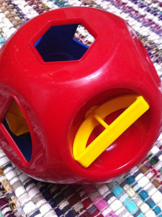 1970s Vintage Fisher Price Block Toy With the by NiftyVintageGirl, $10.00