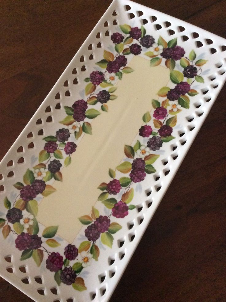 Swiss roll plate by Angela Davies