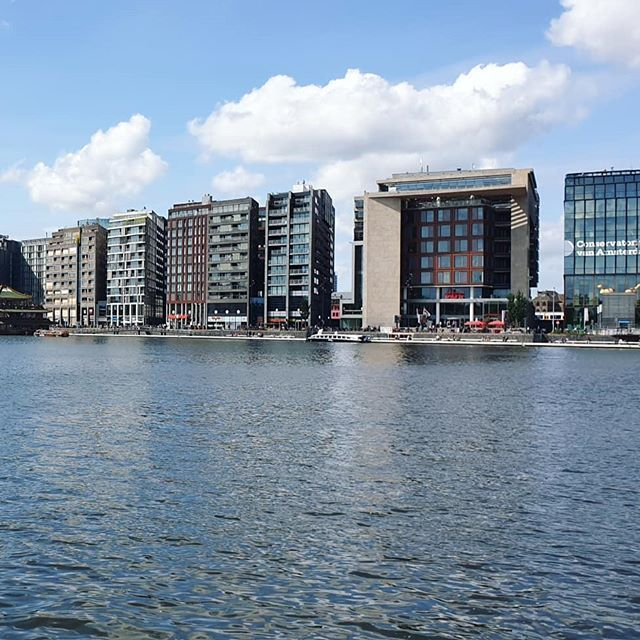 #city #of #amsterdam #water #house #ship