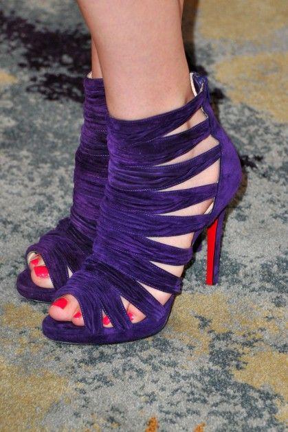 purple shoes: Purple Shoes, Style, Purple Passion, Things Purple, Sassy Purple, Color Purple, Purple Things