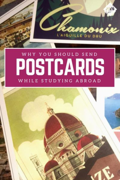 Send your people some love from around the globe! Caitlin, an AIFS Study Abroad Student Blogger, makes the case for sending postcards to your friends and family while you're abroad.