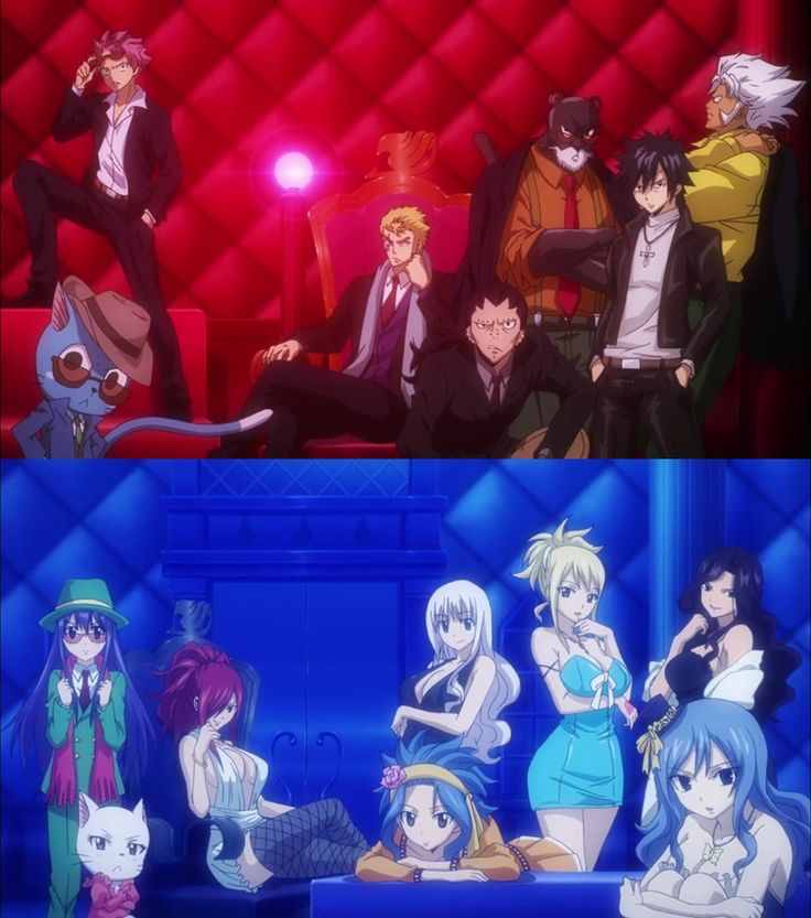 I wanted to see a episode with natsu and gray in suits why would thay put this in the opening if we never see this happen<<<<<When your squad is on fleek