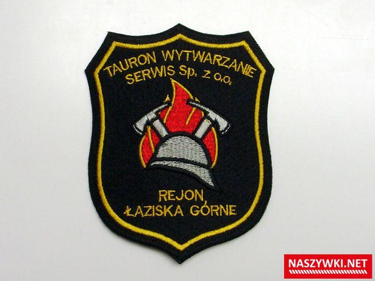 naszywka haftowana tło filc  #rzep #velcro #patch #strażacy #strażpożarna #fireman