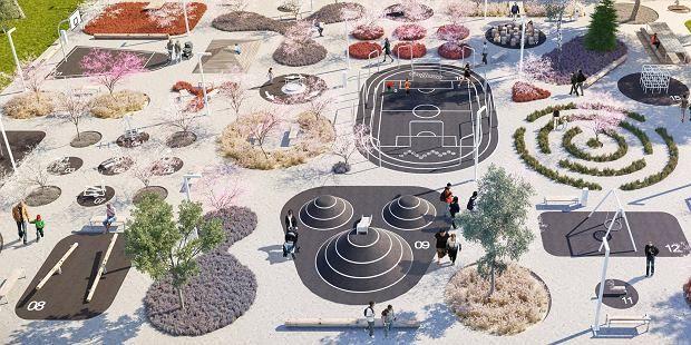 Zdjęcie numer 4 w galerii - Niezwykły plac dla mieszkańców Chorzowa. Jest czego…
