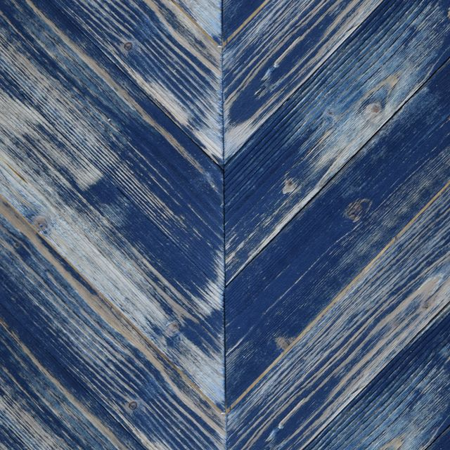 These Midnight Blue Painted Chevron pine barn sidings are colour washed with paint giving the resemblance of faded façades. Endless combinations of the colours below are available.