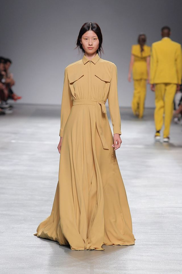 Long yellow shirt dress #long #yellow #shirt #dress #woman #spring #summer #eagle #eye #luiscarvalho