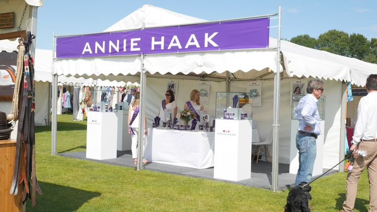 How good does our #AnnieHaak stand look at the Cowdray polo final on the 19th July 2015