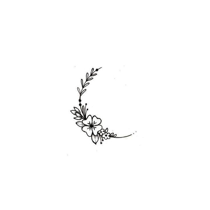 das süßeste kleine Stück haben. Ich würde das gerne auf einem meiner #tat… #flowertattoos