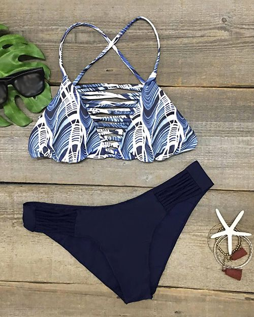 Ready for next hot summer, $18.99! Easy Return + Refund! Stunning and comfortable all at the same time!  This bathing suit is comfy perfections with hot strappy detailing and high let cut design.  Hit more now at Cupshe.com