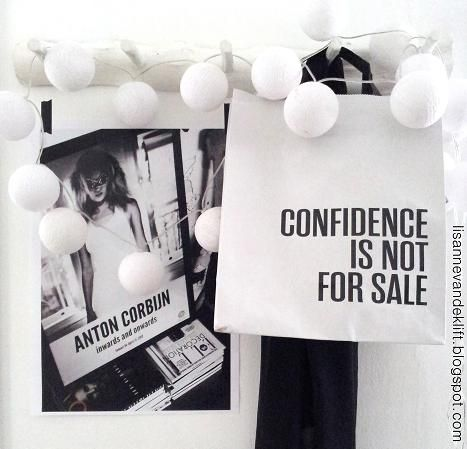 Confidence is not for sale.