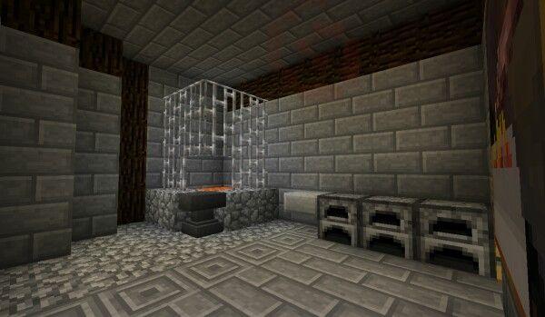 Blacksmith Room Minecraft Minecraft Forge Decor
