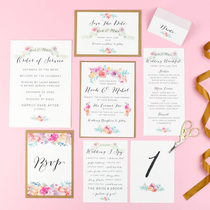 50 best Wedding Stationery images on Pinterest | Wedding ...