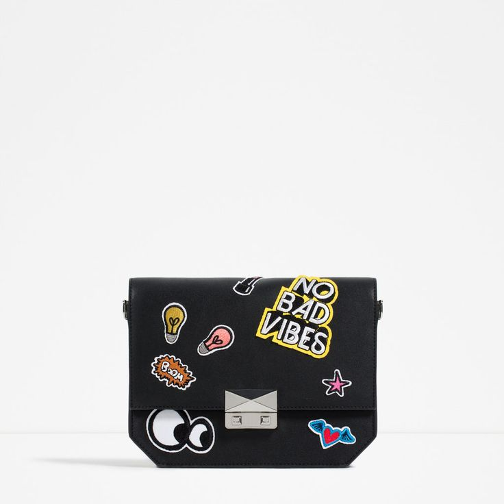 PATCH CROSS-BODY BAG-BAGS-WOMAN-COLLECTION AW16 | ZARA United States