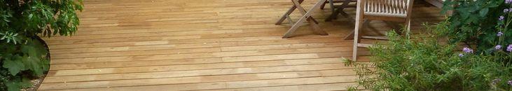 Terrasse en robinier Abouté , Tarif, lame, platelage, poutre, chevron, tasseau, planche de terrasse en robinier, bardage, planches lisses ou rainurée antidérapant, clip inox invisible, fixation vis A4, catalogue des bois d' Acacia AKATZ  56,2 euro per meter