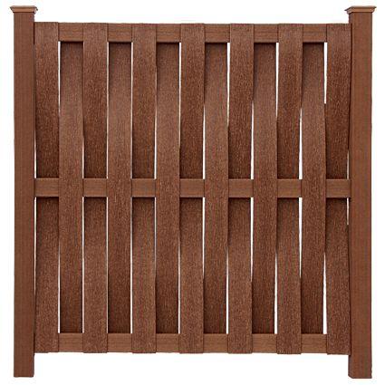 vertical basket weave panel