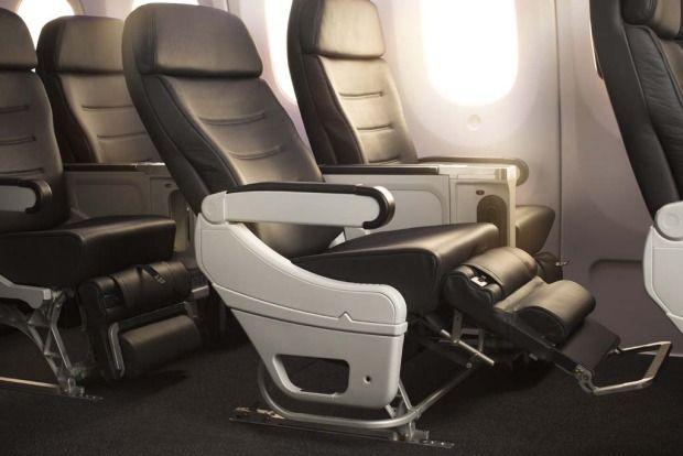 Air New Zealand Boeing 787-9 Premium Economy.