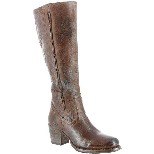 Bed:Stu Fate Women's Tan Boot 7.5 M ($268) ❤ liked on Polyvore featuring shoes, boots, knee-high boots, tan, tan high heel boots, side zip boots, knee boots, knee high boots and tan knee boots