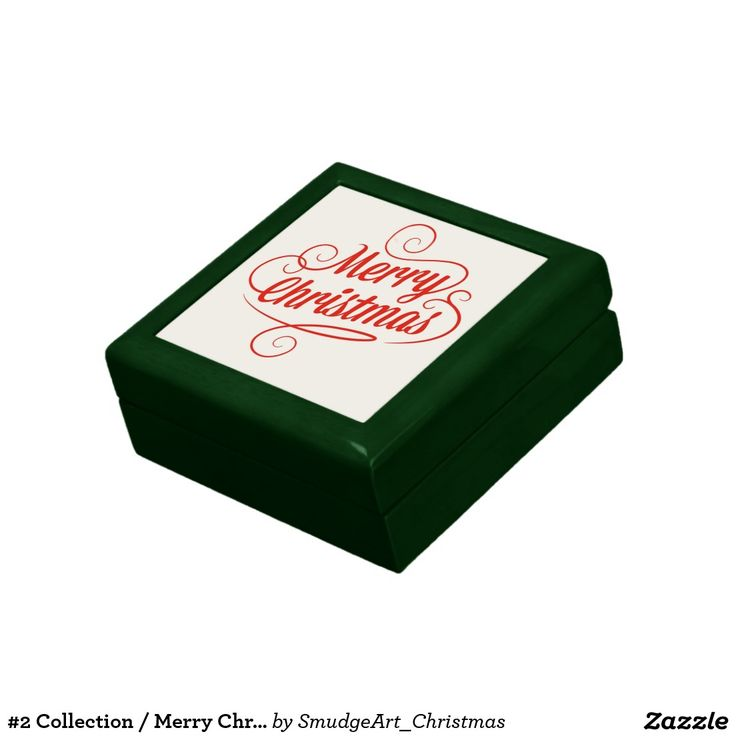 #2 Collection / Merry Christmas Trinket Boxes