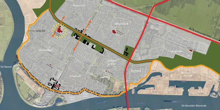 Ontwerpstudie voor de revitalisering en uitbreiding van winkelcentrum Westpolder…