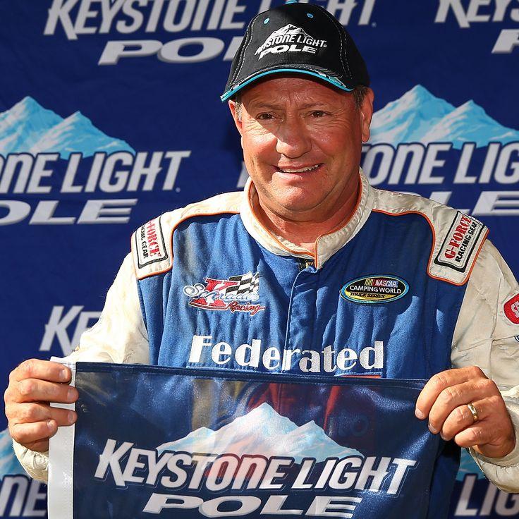 Ken Schrader sets record for oldest pole-winner!