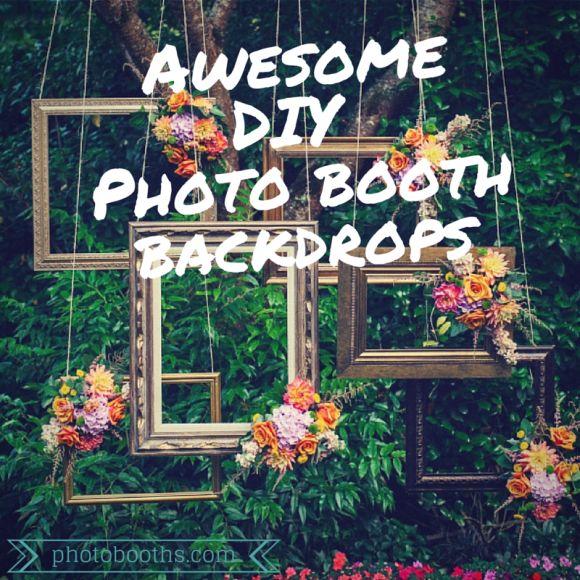 25+ Unique Diy Photo Booth Backdrop Ideas On Pinterest