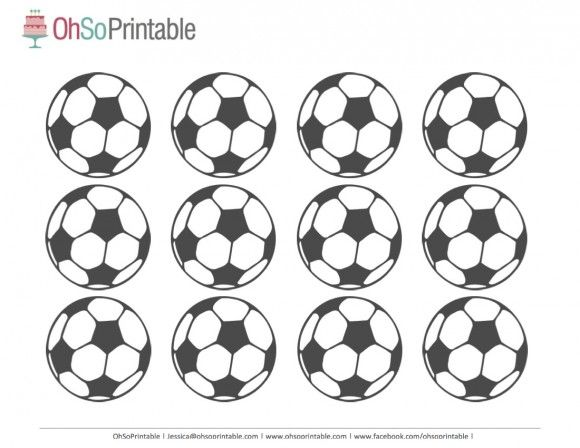 FIFA World Cup Soccer 2014 Free Party Printables | Catch My Party.com