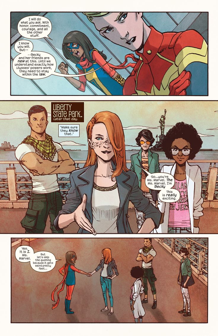 Ms. Marvel (2016) Issue #8 - Read Ms. Marvel (2016) Issue #8 comic online in high quality