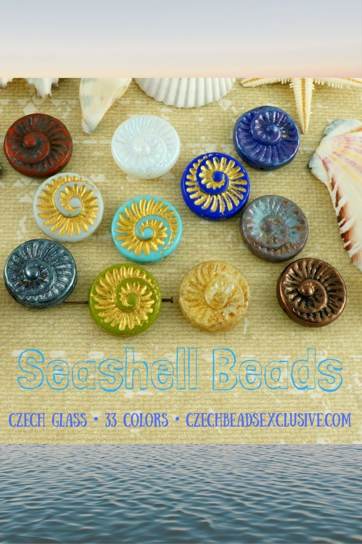 ☀️SUMMER+SEA SHORE = CZECH GLASS SEASHELL BEADS! 33 New Colors -> Buy now with discount! Hurry up - sold out very fast! ~>> http://www.CzechBeadsExclusive.com/+seashell     SAVE them! Write in comments how you will use them + mention your shop link/account!  Lowest price from manufacturer!  Get free gift! 1 shipping costs - unlimited order quantity! Get high wholesale discounts! Sold with  at www.CzechBeadsExclusive.com   #seashells #seashell #czechbeads  #czechbeadsexclusive