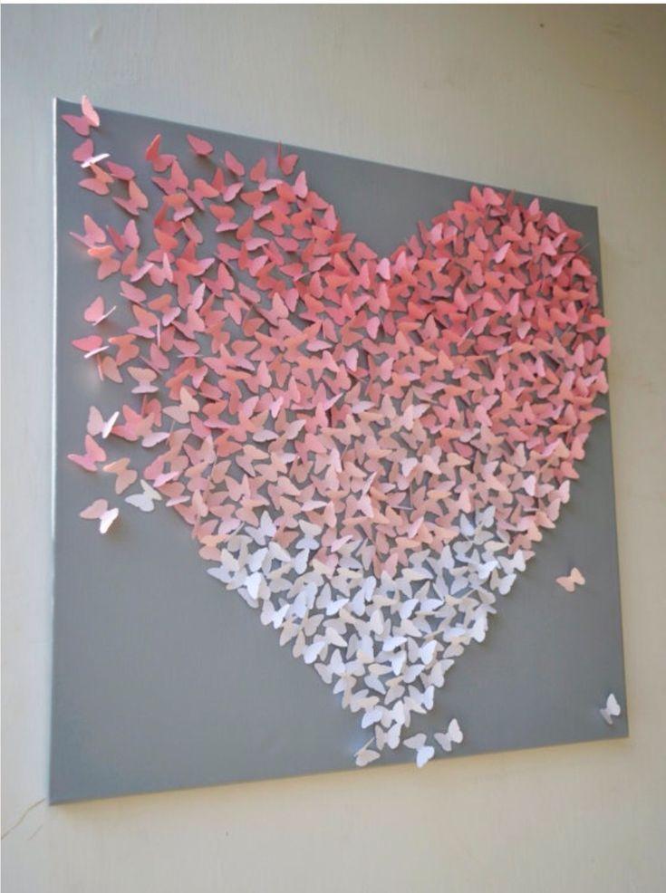 523 best Paint Chip Crafts images on Pinterest