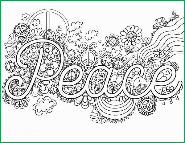 Peace sign coloring page - Print. Color. Fun! | 464x600