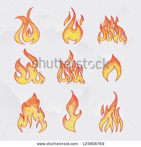 Fire drawing