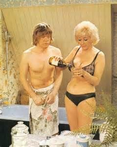 'Ere Timmy, try some of this, it might help your ardour', says Liz Fraser to Robin Asquith in Confessions of a Driving Instructor.