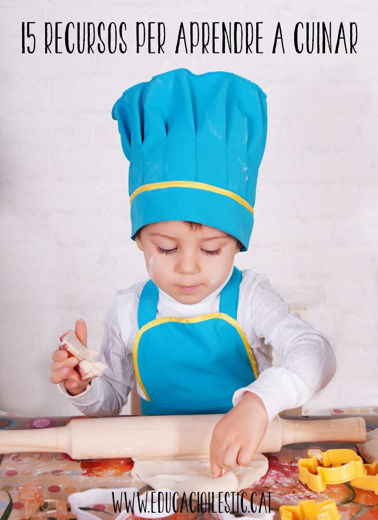 15 recursos per aprendre a cuinar