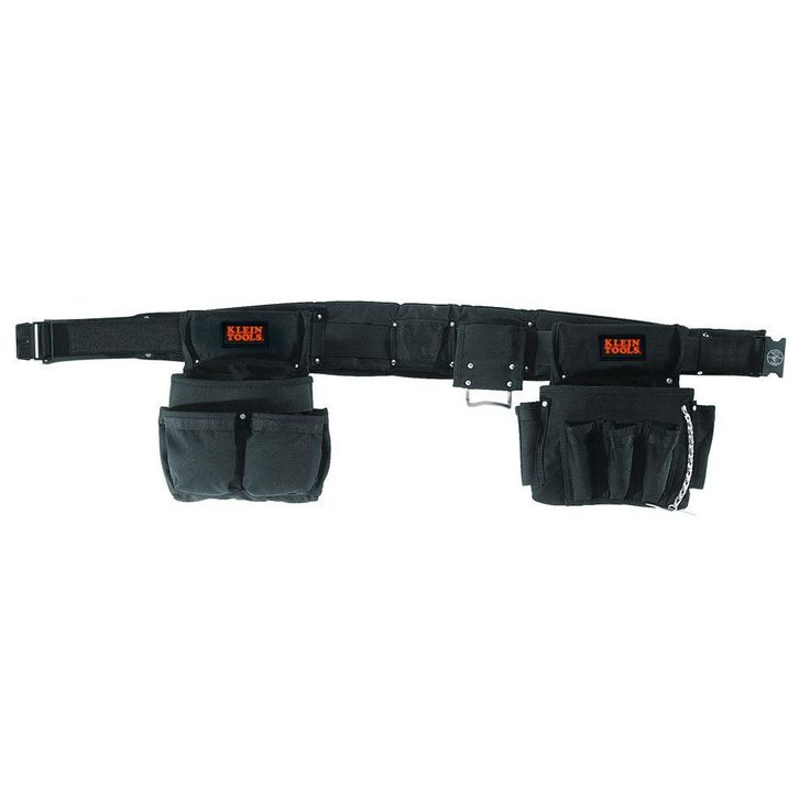 Black Nylon Electrician's Tool Belt