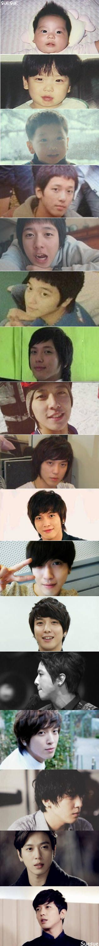 Jung Yong Hwa from baby to present, such a cutie!