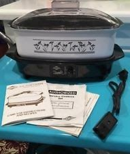 Vintage West Bend 4 Quart Slow Cooker new