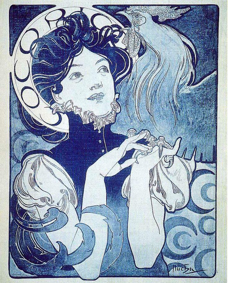 Mucha Alphonse (Czech, Art Nouveau painter, 1860-1939)2