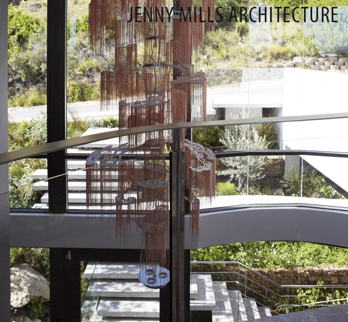 atrium, looking out, light fitting, landscaping stairs, landscape