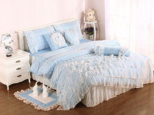 fadfay home textil rosa lace bettw sche prinzessin bettw sche rosa polka dot marke. Black Bedroom Furniture Sets. Home Design Ideas