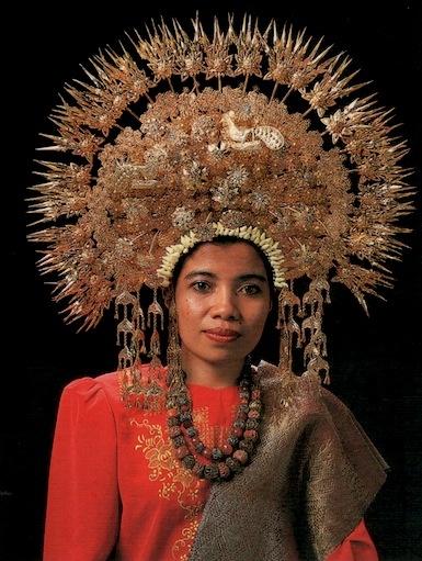Minangkabau Bridal Headdress from Yorkshire Collection