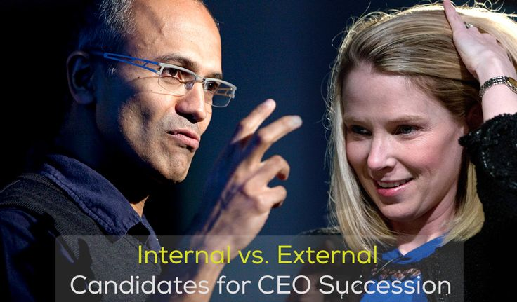 CEO Succession (Internal or External): What do you think? #succession
