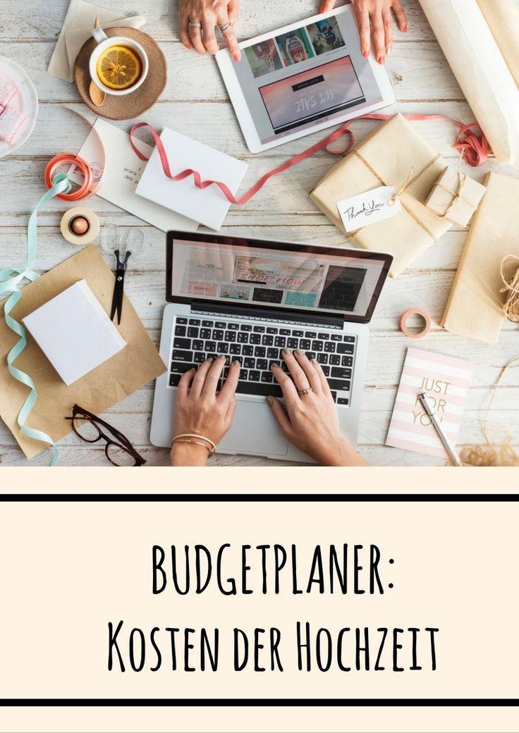 Die Kosten der Hochzeit richtig planen mit dem coolen Budgetplaner von LAMIE. Jetzt gratis downloaden als PDF oder Excel!