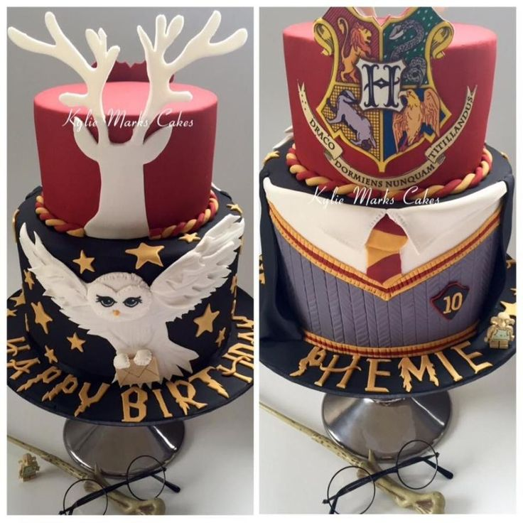 Harry Potter - Cake by Kylie Marks