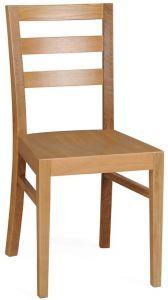 Dřevěná židle A-9512 BEECH (buk)