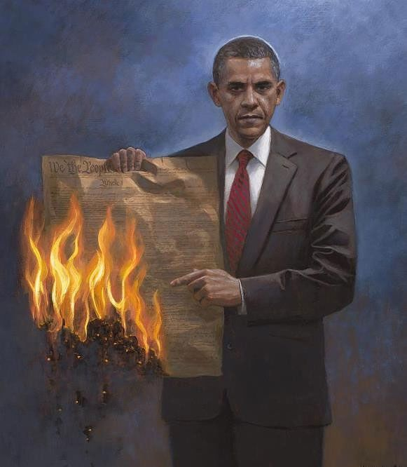 Jon McNaughton: Artist Depicts Obama with Burning Constitution in Viral Controversial Painting